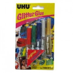 UHU GLİTTER GLUE 6*10ML NO.39040